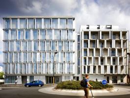 A Nantes, un ensemble immobilier qui comprend logements et pôle tertiaire