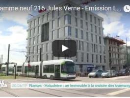 Le programme 216 Jules Verne mis en lumière dans l'émission La ville qui bouge de téléNantes !
