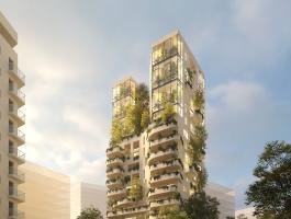 La première tour végétale de Nantes va être réalisée par le Groupe CIF