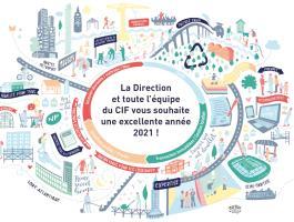 Le Groupe CIF vous souhaite une excellente année 2021 !