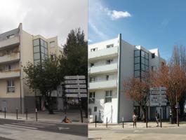 La fin des travaux de rénovation de la résidence Facultés 2 approche
